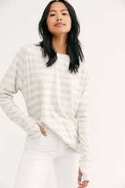 Free People Arden Stripe Tee - Product Mini Image