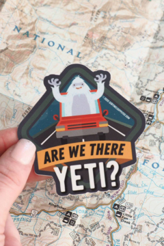 Sentinel Supply Are We There Yeti? Vinyl Sticker - Product List Image
