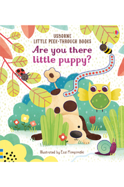 Usborne Are You There Little Puppy - Product Mini Image