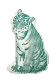 Areaware Tiger Pillow - Front cropped