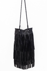 Areias Leather Black Leather Bag - Product Mini Image