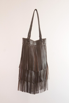 Areias Leather Brown Leather Bag - Product List Image