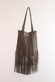 Areias Leather Brown Leather Bag - Product Mini Image