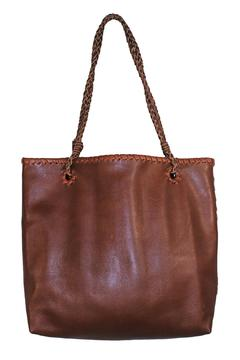 Areias Leather Caramel Leather Bag - Product List Image