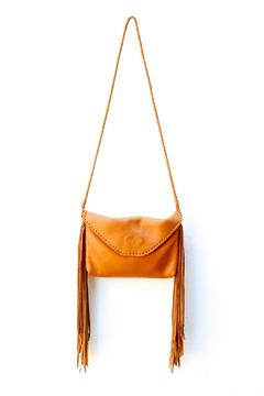 Areias Leather Cross Boby Fringe Bag - Product List Image