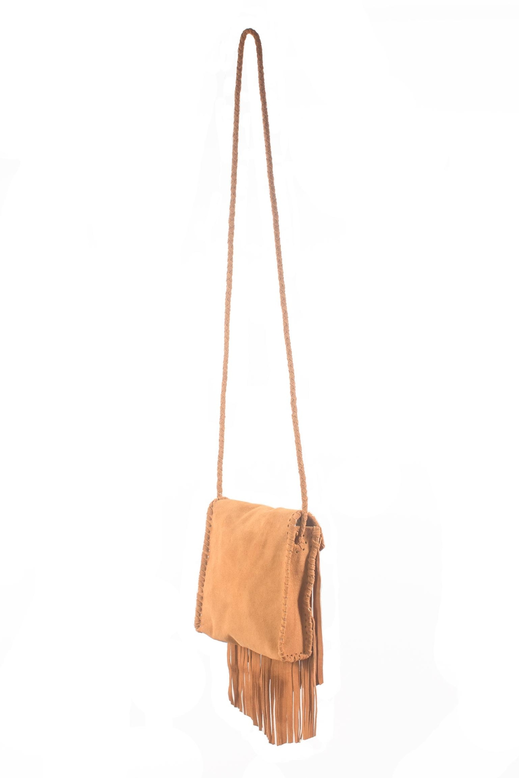 Areias Leather Cross Body Leather Bag - Front Full Image