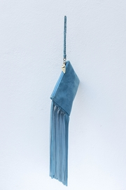 Areias Leather Light Blue Mini-Clutch - Product Mini Image