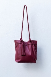 Areias Leather Red Leather Shoulder-Bag - Product Mini Image