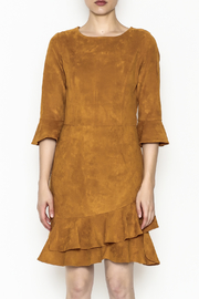 Areyah Faux Suede Dress - Front full body