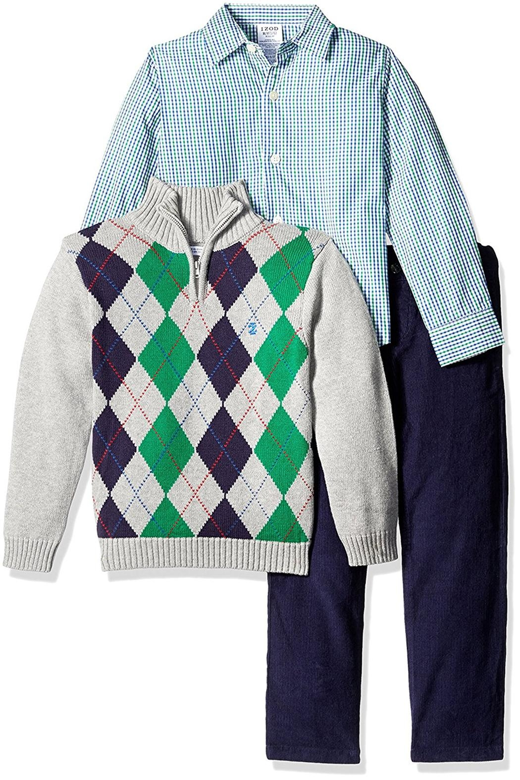 8eb7b318b Izod Argyle Sweater Set from Tennessee by XpressKidz — Shoptiques