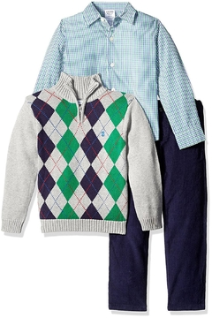 Shoptiques Product: Argyle Sweater Set