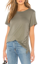 LNA Ari Cinched-Side Tee - Front full body