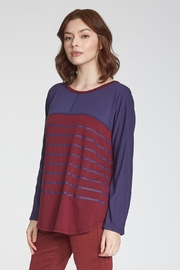 Another Love  Ari Stripe Long Sleeve Tee - Product Mini Image