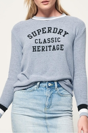 Superdry Aria Applique Top - Product Mini Image