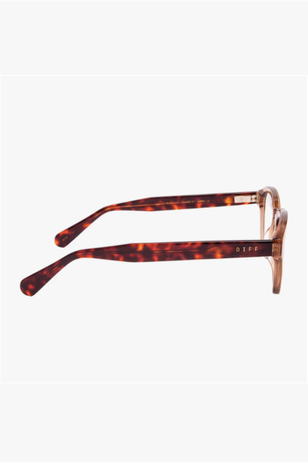 Diff Eyewear Aria Blue Light Glasses - Side Cropped Image
