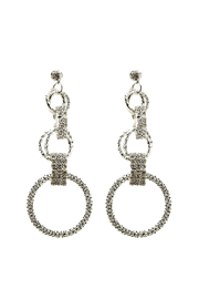 US Jewelry House Aria Circle Earring - Front cropped