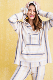 easel  Aria Hooded Pullover - Product Mini Image