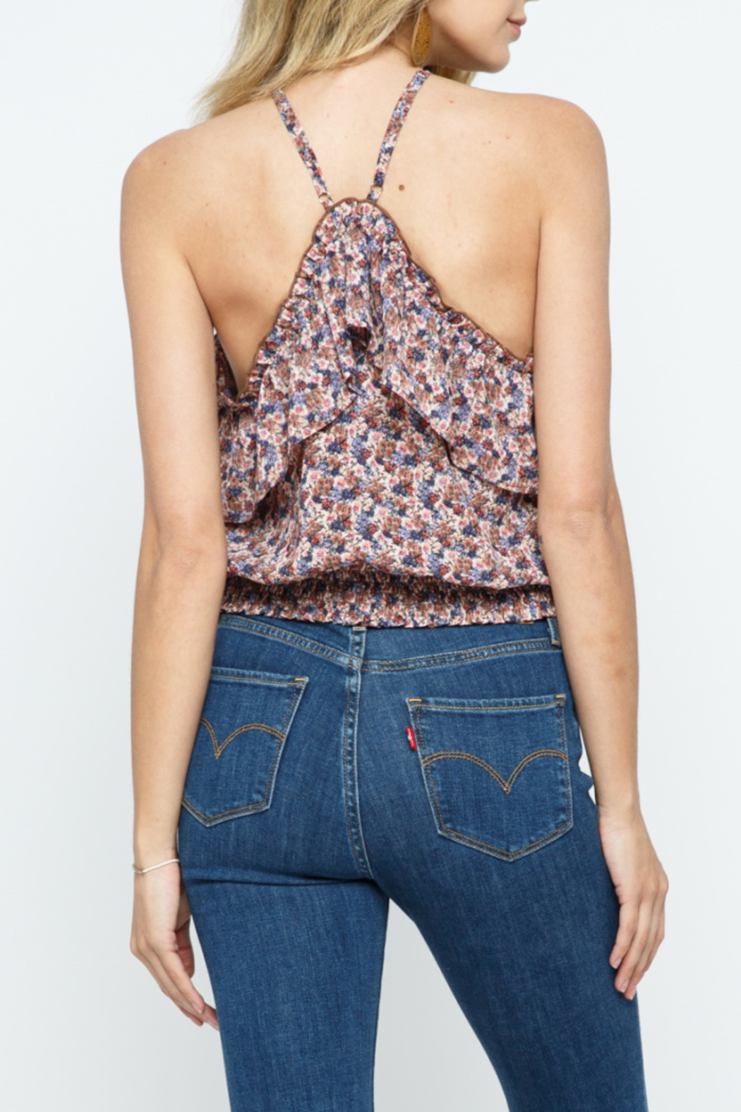 Cozy Casual Aria Necklace Halter - Front Full Image
