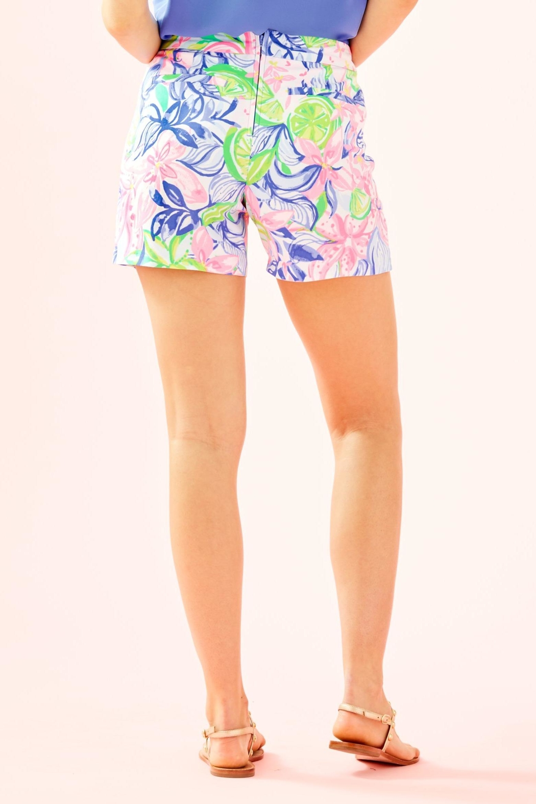Lilly Pulitzer Ariana Stretch Short - Front Full Image