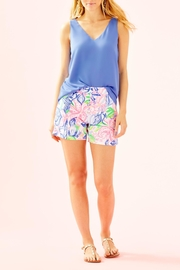 Lilly Pulitzer Ariana Stretch Short - Back cropped