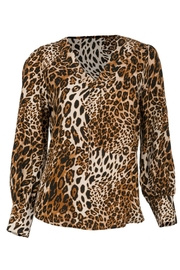 Arianna Cheetah Print Blouse - Product Mini Image