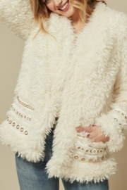 Goldie Arianna Ivory Coat - Product Mini Image