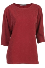 Arianna Lurex Batwing Top - Product Mini Image