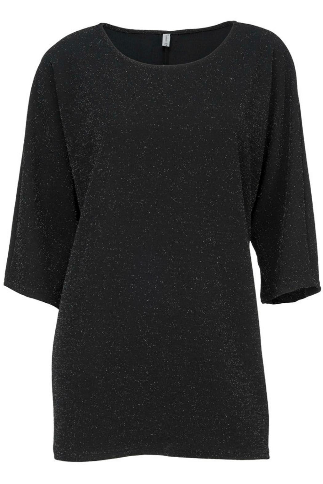 Arianna Lurex Batwing Top - Front Cropped Image