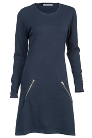 Arianna Navy Sweater Dress - Product Mini Image