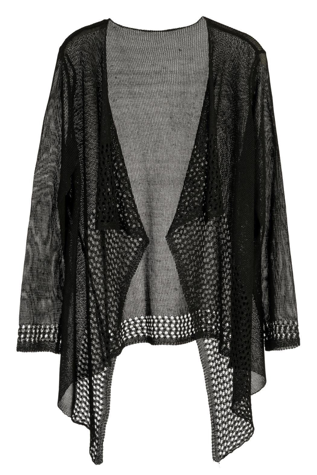 Arianna Open Weave Cover Up - Front Cropped Image