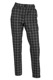 Arianna Plaid Stretch Trousers - Product Mini Image