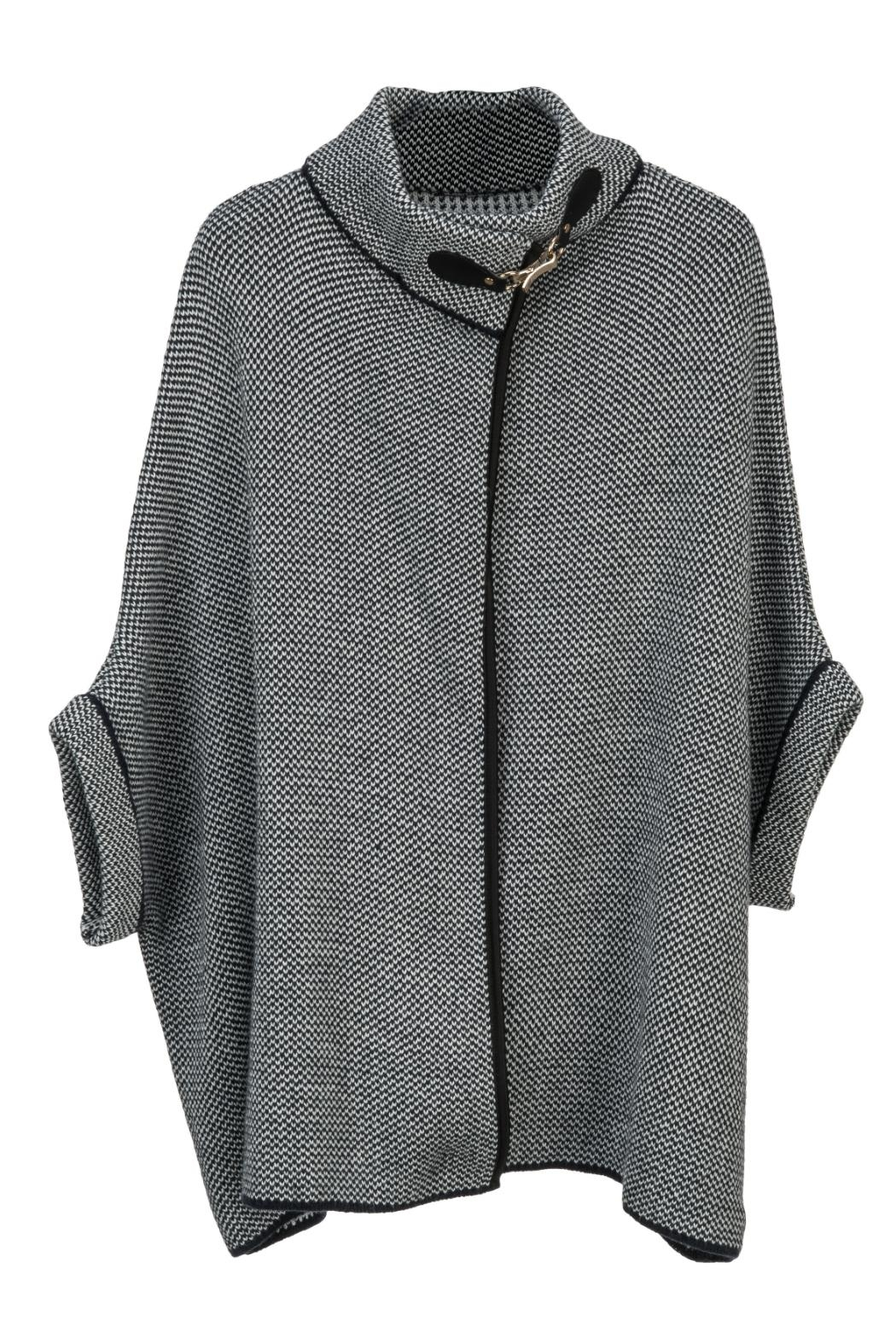Arianna Tweed Sweater - Front Cropped Image