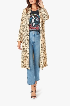 Cupcakes & Cashmere Arianne Cheetah Duster - Product List Image