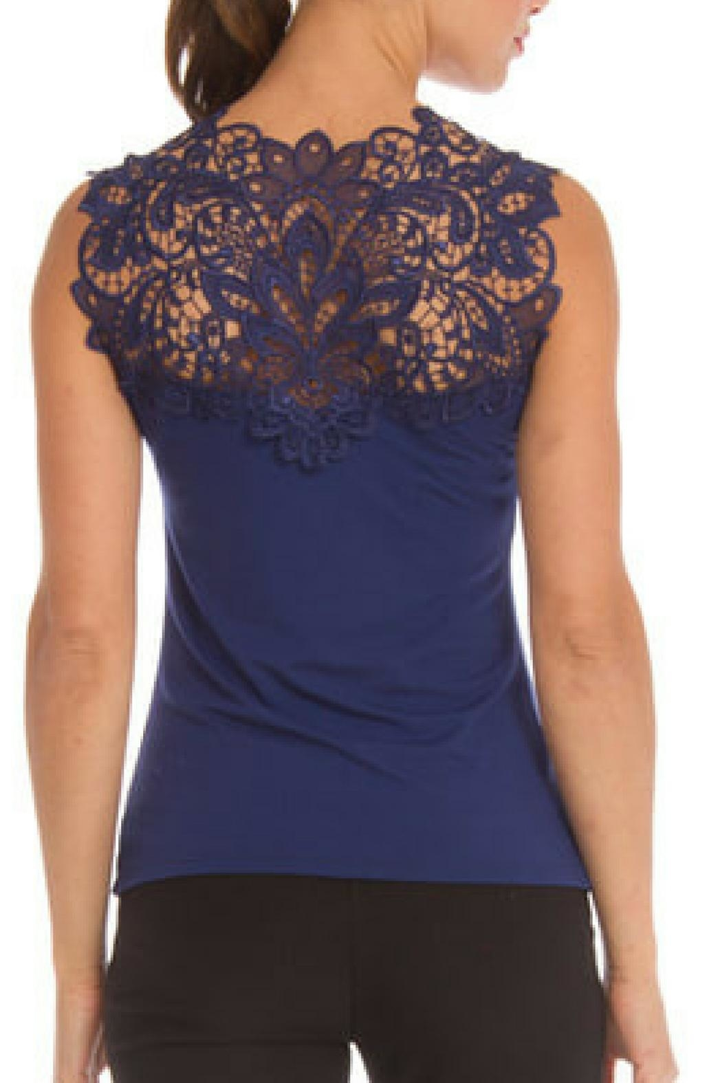 Arianne Teri Reversible Top - Back Cropped Image