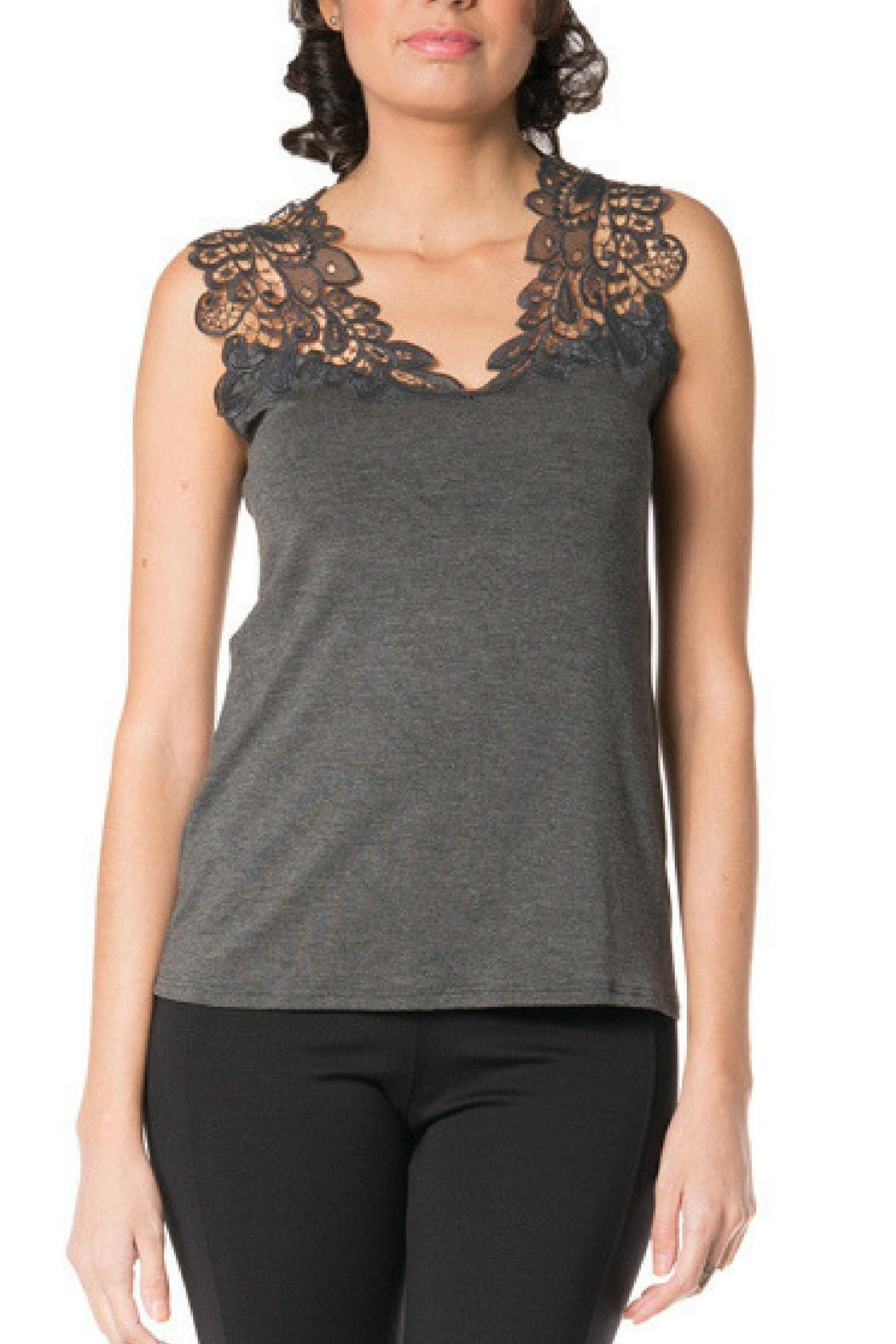 Arianne Teri Reversible Top - Front Cropped Image