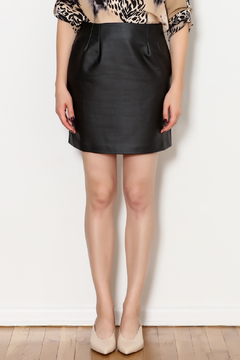 Shoptiques Product: Arianne Vegan Leather Skirt