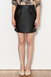 Gentle Fawn Arianne Vegan Leather Skirt - Product Mini Image