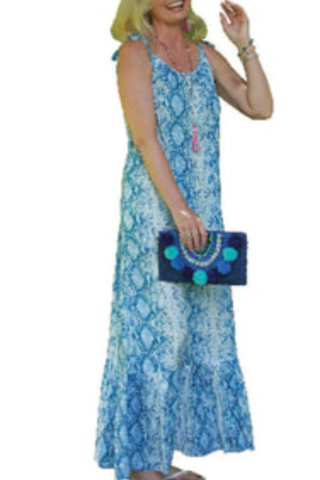 Lani Lau Hawaii Ariel Dress - Snake Print - Main Image
