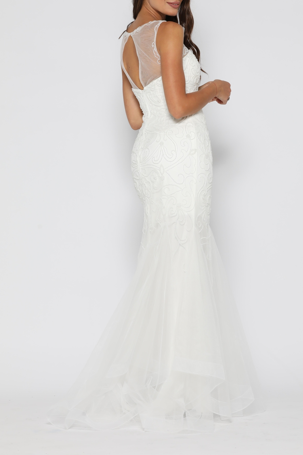 0a754ea85c Jadore Ariel Gown Ivory from Sydney by Windsor and Lux — Shoptiques