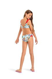 Roxy Ariel Heritage Floral Athletic Bikini Set - Side cropped