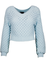 Lucy Paris ARIEL KNIT SWEATER - Front cropped