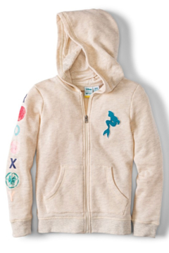 Roxy Ariel My Fins Zip-Up Hoodie - Product List Image
