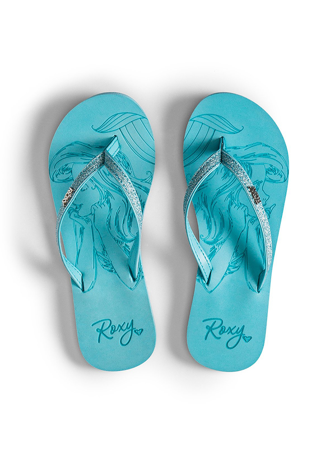 Roxy Ariel Napili Flip-Flops - Front Cropped Image