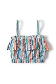 Roxy Ariel Shifting Scenes Strappy Top - Front cropped