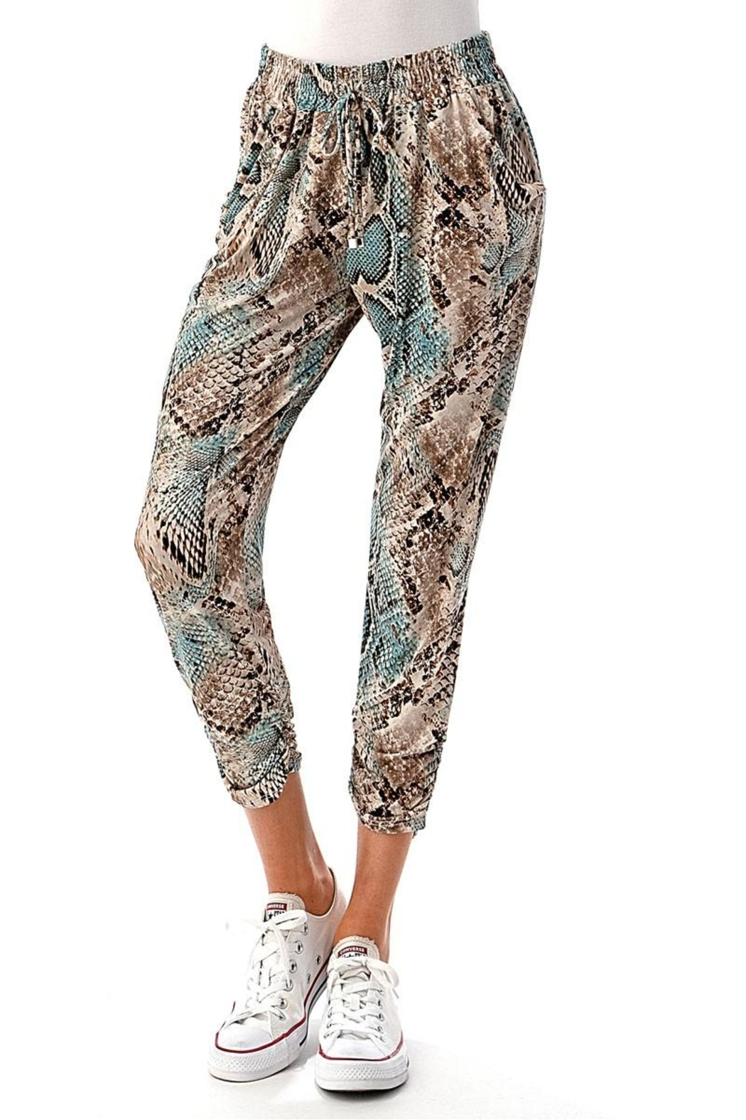 Ariella Ruched Jogger Pants - Main Image