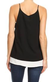 Ariella Grommet Layered Tank - Front full body
