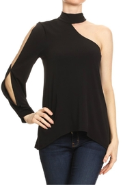 Ariella One-Shoulder Choker Top - Product Mini Image