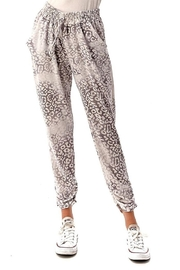 Ariella USA Leopard Jogger Pants - Product Mini Image