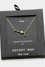 Bedford Basket Aries Constellation Necklace - Product Mini Image