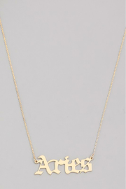 R+D Hipster Emporium  Aries Necklace - Product Mini Image